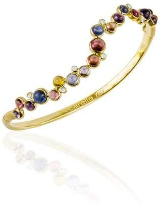 Mixed Color Spinel Cabochon Bubbles Bracelet