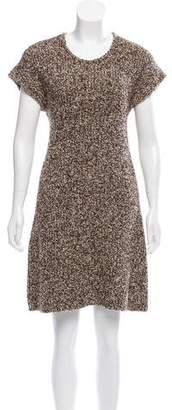 Salvatore Ferragamo Wool Bouclé Dress