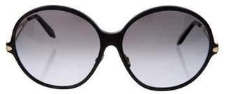 Victoria Beckham Oversize Round Sunglasses