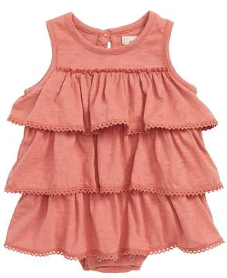 Chloé Peek Essentials Peek Tiered Ruffle Bodysuit