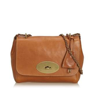 Mulberry Lily Brown Leather Handbag