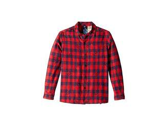 0629401c702ea Tommy Hilfiger Adaptive Statement Plaid Shirt (Little Kids Big Kids)