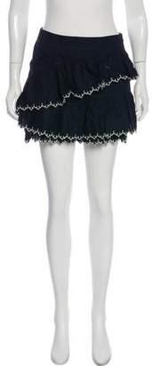 Ulla Johnson Ruffle Mini Skirt w/ Tags