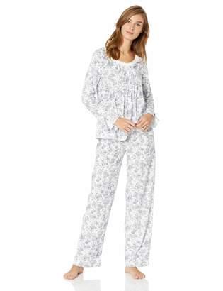 Carole Hochman Women's Long Sleeve Pajama Set