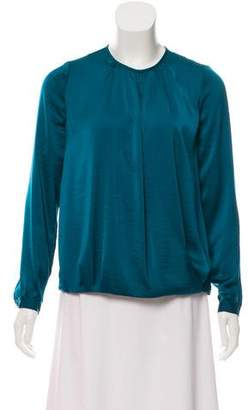Vince Crew Neck Long Sleeve Blouse w/ Tags
