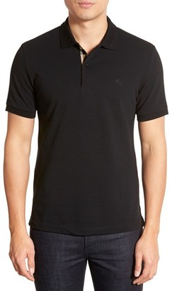 Men's Burberry Pique Polo $175 thestylecure.com