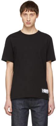 Ami Alexandre Mattiussi Black Name Tag T-Shirt