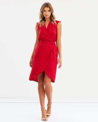 Atmos & Here ICONIC EXCLUSIVE - Sansa Cross Over Dress