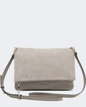 Clover Suede Crossbody Bag