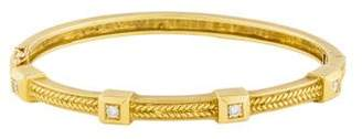 Penny Preville 18K Diamond Bangle