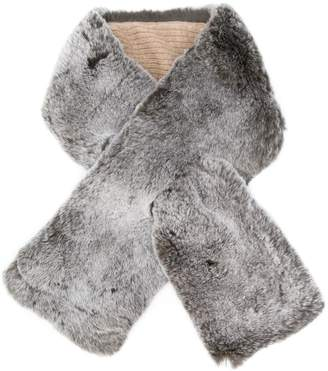 N.Peal neckwarmer with cashmere details