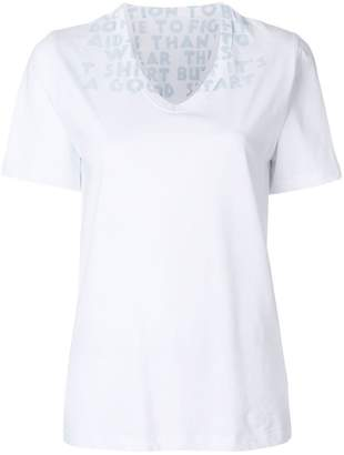 Maison Margiela v-neck T-shirt
