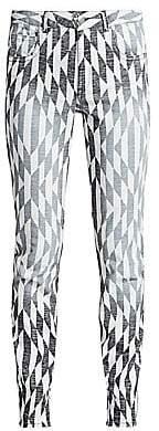 Etoile Isabel Marant Women's Paro Print Jeans