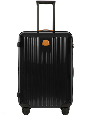 Bric's Capri Trolley Suitcase - Black/Tobacco - 69cm