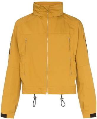 MACKINTOSH zip up stand collar hooded jacket