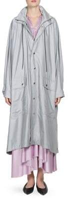 Balenciaga Reflective Logo Rain Coat