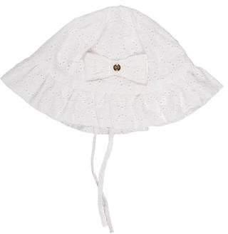 Lili Gaufrette Girls' Eyelet Bonnet