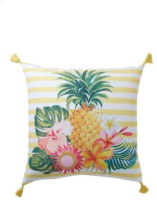 "ENCHANTE Pineapple Outdoor Pillow - Yellow - 16"" x 16\"""