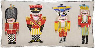 Mackenzie Childs Nutcracker Brigade Lumbar Cushion