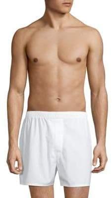 Saks Fifth Avenue Trim-Fit Cotton Boxers