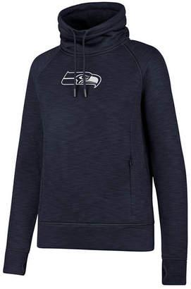 '47 Women's Seattle Seahawks Shade Funnel Sweatshirt