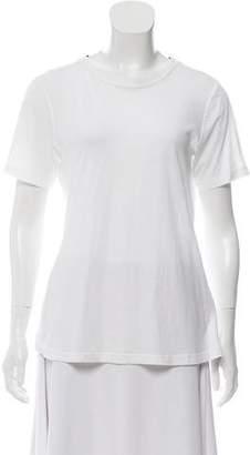 A.L.C. Cutout Scoop Neck T-Shirt