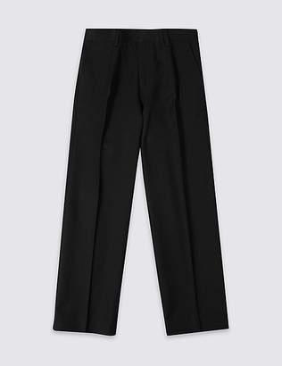 Marks and Spencer Boys' Additional Lengths Regular Leg Trousers