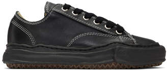 Miharayasuhiro Black Original Sole Leather Sneakers