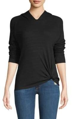 Generation Love Dawn Tie-Front Hooded Sweatshirt