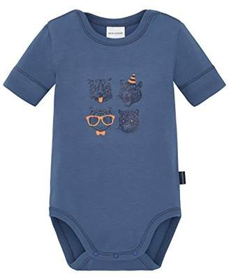 Schiesser Unisex Baby Body 1/2 Base Layer, (Blue 800)