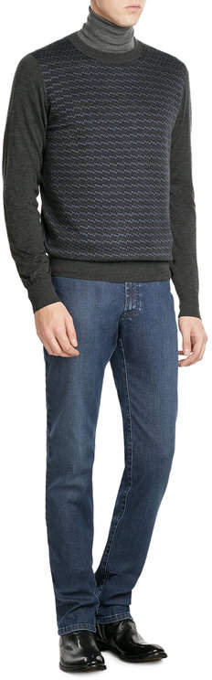 BrioniBrioni Straight Leg Jeans
