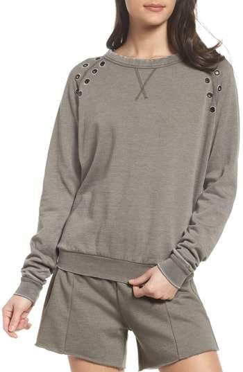 Grommet Sweatshirt