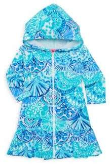 Lilly Pulitzer Little Girl's& Girl's UPF 50+ Stretch Cotton Coverup