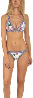 Zimmermann Allia Elastic Tri Bikini Top