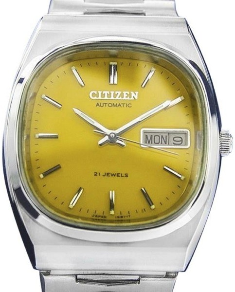 CitizenCitizen 21 Jewels Stainless Steel Automatic Vintage Mens Watch Year: 1970