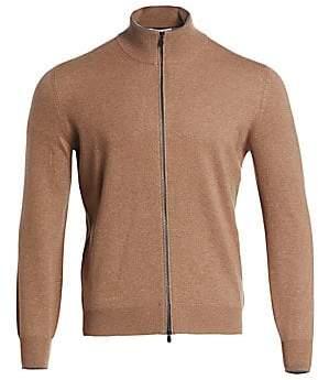 Brunello Cucinelli Men's Cashmere Full Zip Sweater