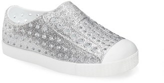 Infant Girl's Native Shoes 'Jefferson - Bling' Slip-On Sneaker $47 thestylecure.com