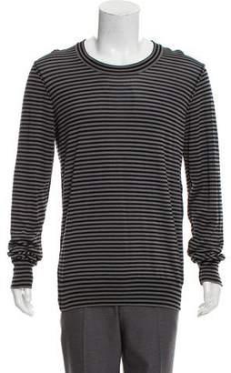 Dolce & Gabbana Wool Striped Sweater w/ Tags