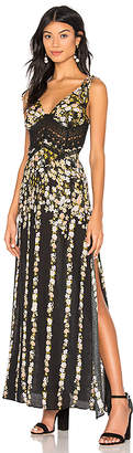 Free People Claire Printed Maxi