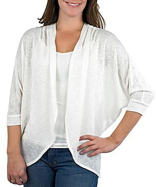 JCPenney by&by Open Cardigan