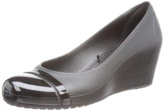 Crocs Women's Cap Toe Wedge Sandal