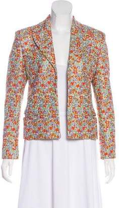 Gianni Versace Embroidered Structured Blazer