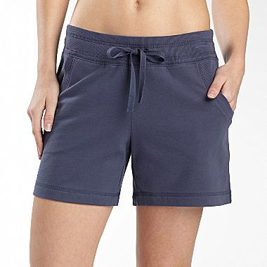 JCPenney Made For Life French Terry Shorts