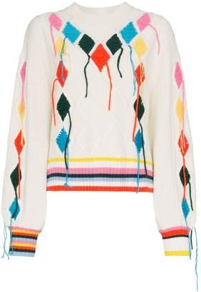 Mira Mikati embroidered jumper