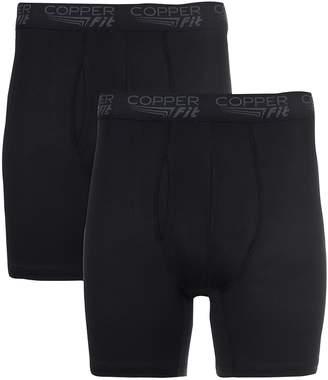 Men's Copper Fit 2-pack 6-inch Active Comfort Boxer Briefs