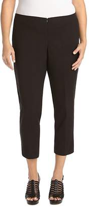 Karen Kane Plus Slim Capri Pants