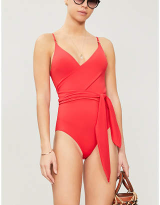 Stella McCartney Wrap-front swimsuit
