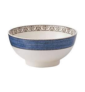 Wedgwood Sarah'S Garden Salad Bowl 20Cm Blue