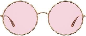 Elie Saab round sunglasses