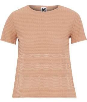 M Missoni Crochet-Knit T-Shirt